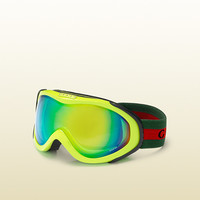 Gucci - ski goggles with gucci logo and signature web detail. 266709J16987112