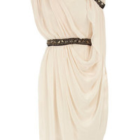 Cream grecian dress - View All  - Dresses  - Dorothy Perkins United States