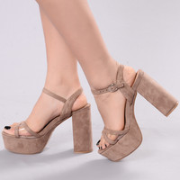 Foreign Cars Heels - Beige