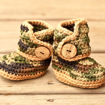 eea47cc22 Crochet Baby Booties - Baby Moccasins - from Simply Crafting Away