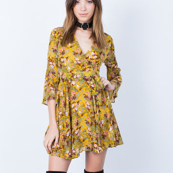 Dolled Up Floral Dress