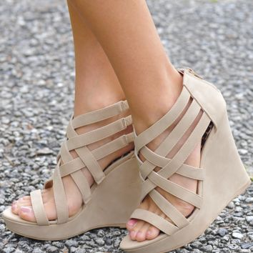 Fenced In Wedges: Sand          Hope's