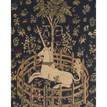 Unicorn in Captivity V European Tapestry