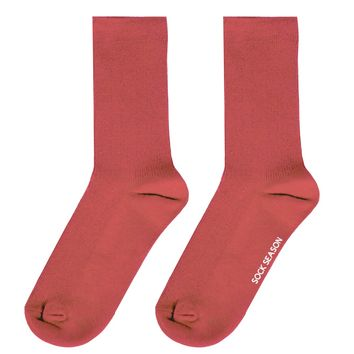 Essential Star Quality Socks | Coral