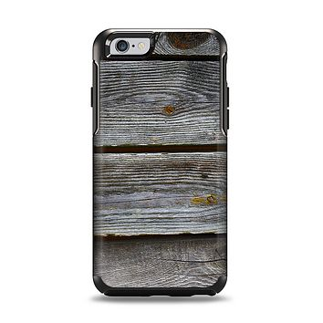 The Aged Wood Planks Apple iPhone 6 Otterbox Symmetry Case Skin Set