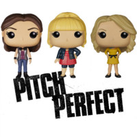 Pitch Perfect Funko POP! Vinyl Figures - Fat Amy, Beca and Aubrey Available - PRE-ORDER NOW, Ships Early October