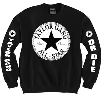 Taylor Gang All Star Unisex Crewneck Funny and Music