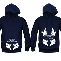 Property Of My BF - GF Unisex Couple Matching Hoodies
