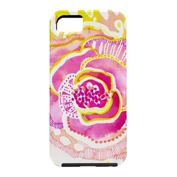 CayenaBlanca Pink Sunflower Cell Phone Case