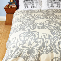 Boho Trunk Beds Duvet Cover in Full, Queen by ModCloth