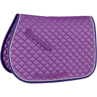 Rider's International Quilted Saddle Pad With Piping | Dover Saddlery