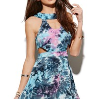 This is a love song Atlantic Tie Dye Dress - Womens Dress - Tie Dye -