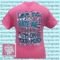 On Your Mind (Short Sleeve) - $16.99 : Girlie Girl™ Originals - Great T-Shirts for Girlie Girls!