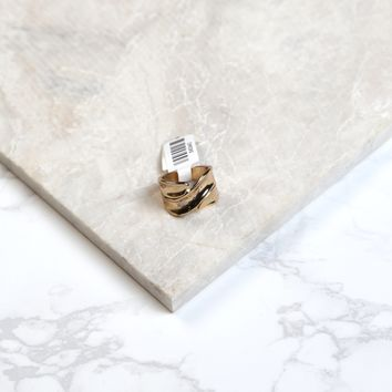 Imprinted Gold Ring