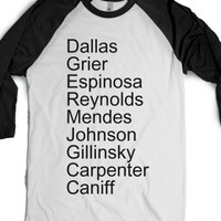 White/Black T-Shirt | Fun Vine Magcon Shirts
