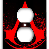 Assassins Creed Red Blood Outlet Cover