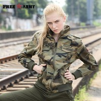Jackets Women New Arrival Female Camouflage Jacket Fall Thick Jackets For Women Coat