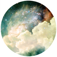 Spacey Circle Wall Decal