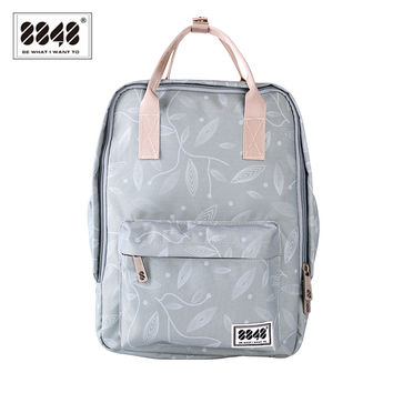 Women's Backpacks 8848 Name Brand Small Capacity Backpack Computer Interlayer Soft Back Shoulder Bag Print  Popular 003-008-012