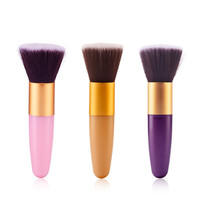 Pro Makeup Brush Flat Top Brush Foundation Liquid Powder Blush Blending Flawless Brush Cosmetic Make up Brushes Tool