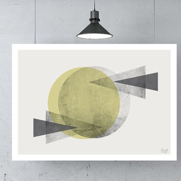Abstract art Triangles poster Geometric art poster Minimal Modern Scandinavian poster Abstract Digital poster print INSTANT DOWNLOAD.