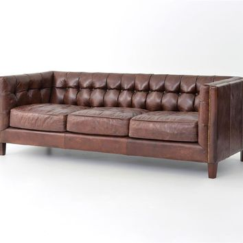 Alderidge Sofa-Cigar