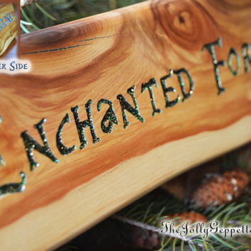 Storybrooke or Enchanted Forest, Alter-Ego Name Plaque, Desk Sign, Carved Wood,  ABC's Once Upon a Time, by The Jolly Geppetto