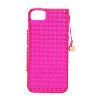 Juicy Couture Mini Stud Jelly Case for iPhone® 5
