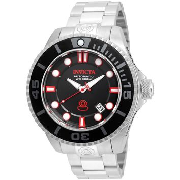 Invicta Men's 19798 Pro Diver Automatic 3 Hand Black Dial Watch