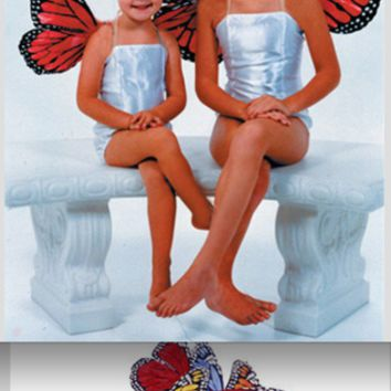 "Large 19"" Butterfly Wings (Multiple Colors Available) - GLBW2"