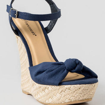 Heaven Espadrille Wedge