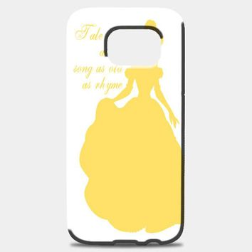 Belle Silhouette Samsung Galaxy Note 8 Case