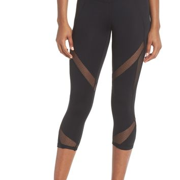 Zella Moroccan High Waist Crop Leggings | Nordstrom