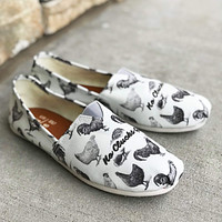 Chicken Clucks Casual Shoes
