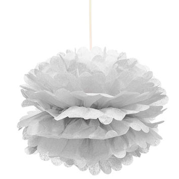 Bulk Hanging White Pom-Poms, 2-ct. Packs at DollarTree.com