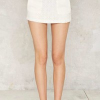 Suzanne Lace Mini Skirt