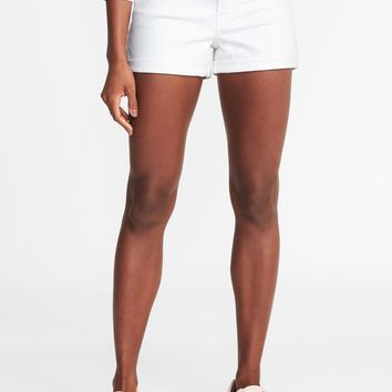 "Clean-Slate Boyfriend Shorts for Women (3"")