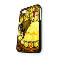 Beauty And The Best Stainet Glass iPhone 5/5S Case