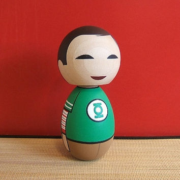Kokeshi Doll Big Bang Theory Sheldon Cooper