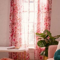 Lovise Floral Window Curtain | Urban Outfitters