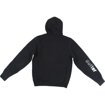 Butter SOLID PLUSH REVERSIBLE HOODIE