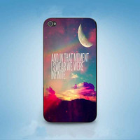 INFINITE QUOTE customized for iphone 4/4s/5/5s/5c ,samsung galaxy s3/s4/s5 and ipod 4/5 cases