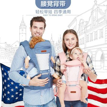 Carrier Multifunctional Breathable Kangaroos BackPack Infant Sling Carrier Hip Seat Baby Carrier