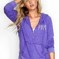 Lightweight Zip Hoodie - Victorias Secret PINK - Victoria's Secret