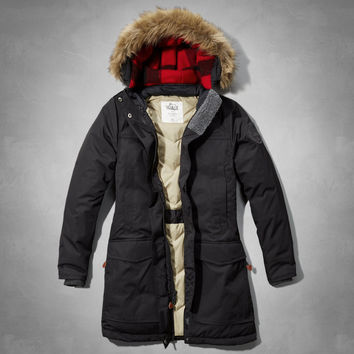 Woolrich With A&F Patrol Down Long Parka