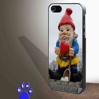 Garden Gnome for iphone 4/4s/5/5s/5c/6/6+, Samsung S3/S4/S5/S6, iPad 2/3/4/Air/Mini, iPod 4/5, Samsung Note 3/4 Case * NP*