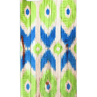 TRIBAL GREEN & BLUE ARROW PHONE CASE