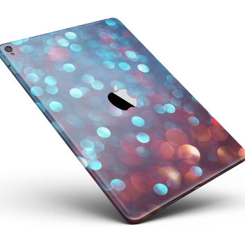 "Unfocused Blue and Red Orbs Full Body Skin for the iPad Pro (12.9"" or 9.7"" available)"