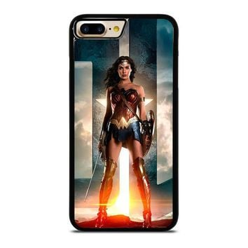 wonder woman gal gadot iphone 7 plus case cover  number 1