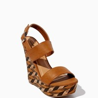 London Print Wedges | Shoes | charming charlie